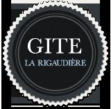 Logo Gîte La Rigaudière, Le Theil-de-Bretagne
