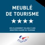 Meublé de tourisme 4 etoiles